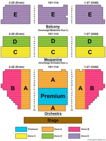 Shubert Theatre Tickets in New York, Shubert Theatre Seating Charts
