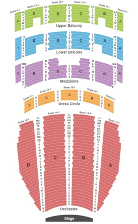 Arlene Schnitzer Concert Hall Tickets in Portland Oregon, Seating