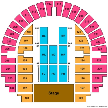 Bell County Expo Center Tickets in Belton Texas, Seating Charts