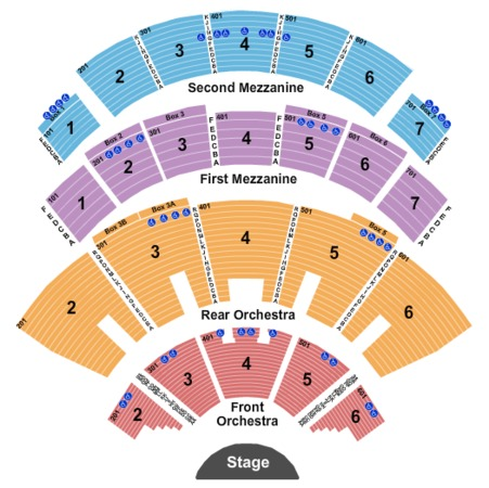 Caesars Palace - Colosseum Tickets in Las Vegas Nevada, Seating