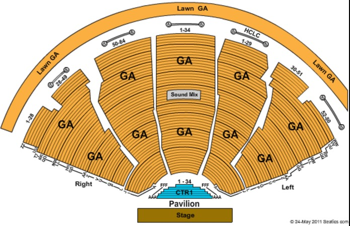DTE Energy Music Theatre Tickets in Clarkston Michigan, Seating