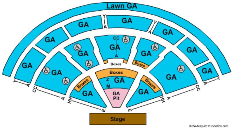 Xfinity Center Tickets in Mansfield Massachusetts, Xfinity Center