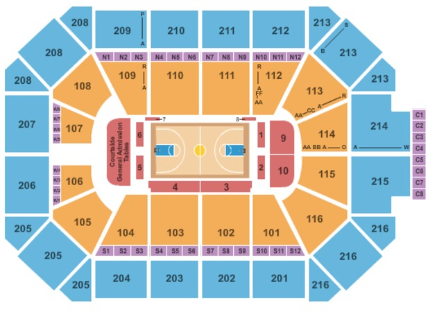 Allstate Arena Tickets in Rosemont Illinois, Allstate Arena Seating