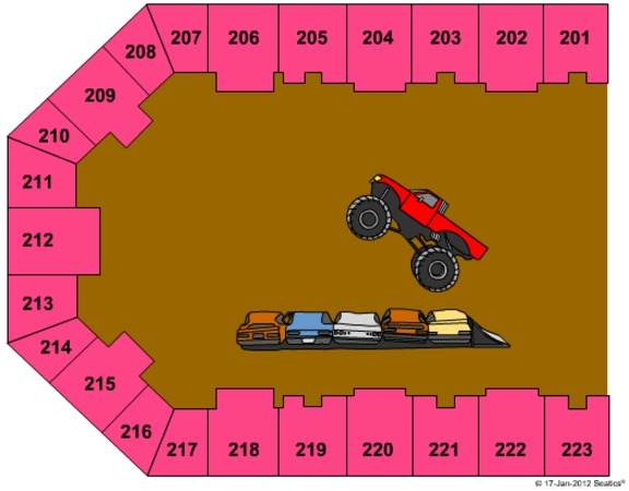 Eastern Kentucky Expo Center Tickets in Pikeville Kentucky, Seating