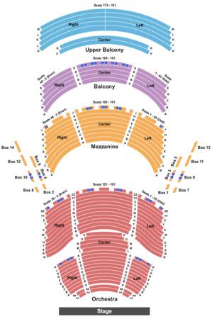 Dr Phillips Center - Walt Disney Theater Tickets in Orlando Florida