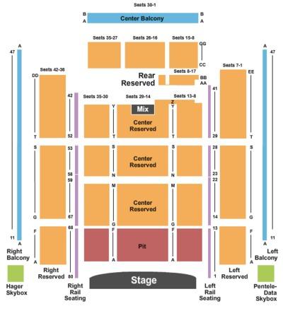 Penns Peak Tickets in Jim Thorpe Pennsylvania, Penns Peak Seating