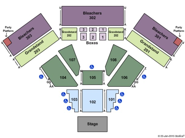 Laughlin Events Center Tickets in Laughlin Nevada, Seating Charts