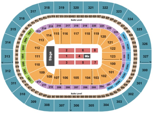 KeyBank Center Tickets in Buffalo New York, KeyBank Center Seating