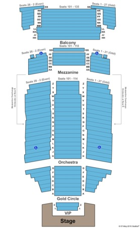 Fox Performing Arts Center Riverside Ca Seating Chart Elcho Table
