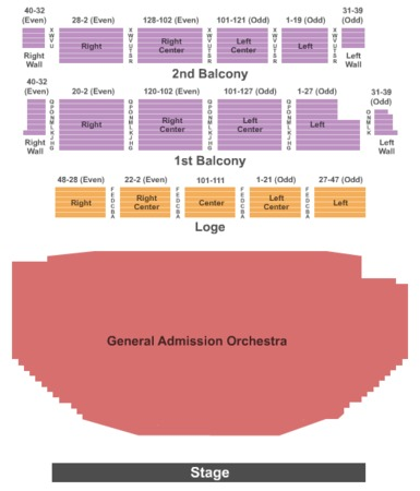 Palace Theatre Albany Tickets in Albany New York, Seating Charts