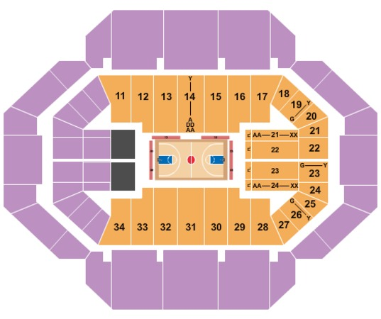 Rupp Arena Tickets in Lexington Kentucky, Rupp Arena Seating Charts
