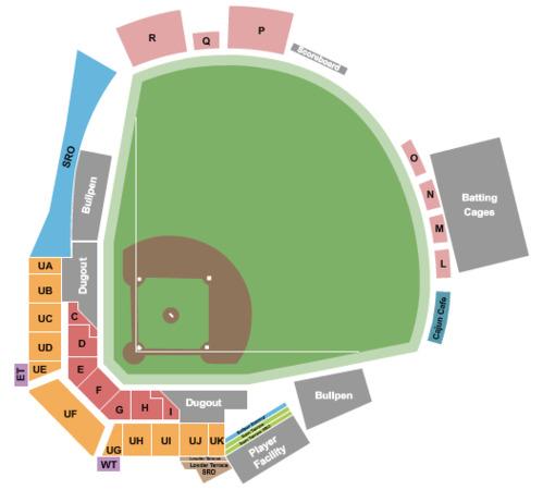 Doug Kingsmore Stadium Tickets in Clemson South Carolina, Seating