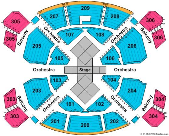 Love Theatre - Mirage Las Vegas Tickets in Las Vegas Nevada, Seating