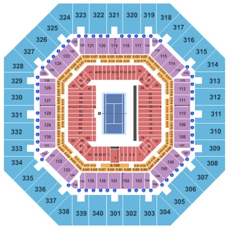 Arthur Ashe Stadium Tickets in Flushing New York, Arthur Ashe