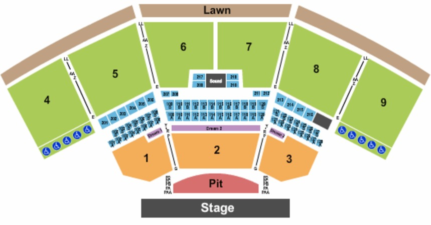 KeyBank Pavilion Tickets in Burgettstown Pennsylvania, KeyBank