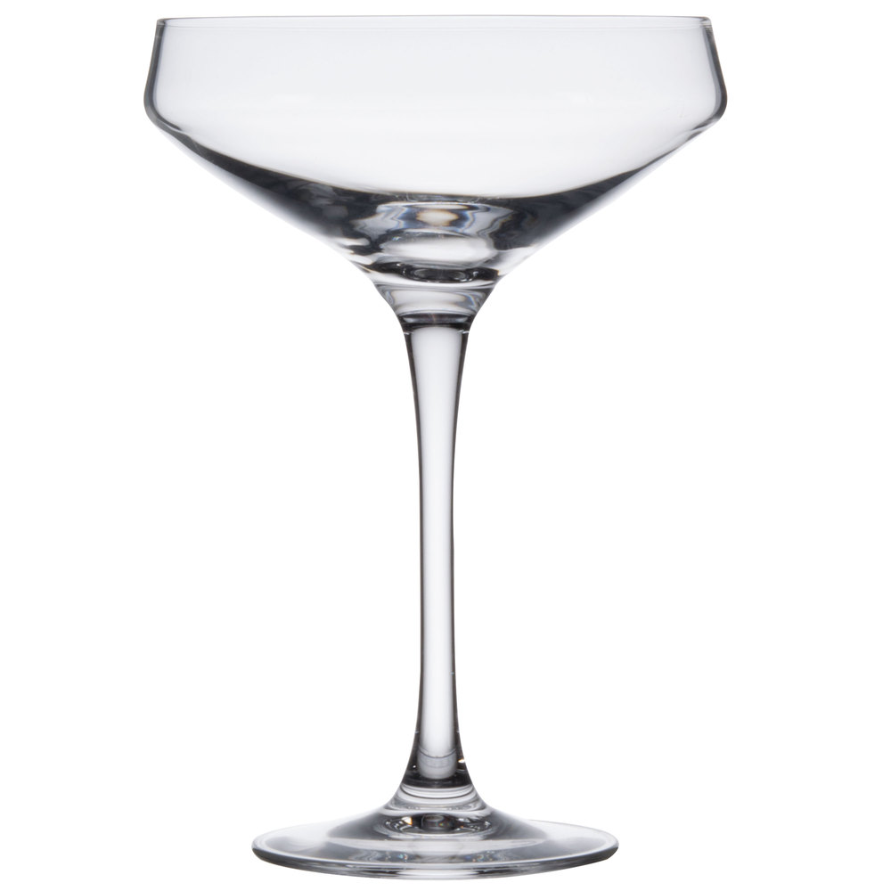 Champagne Coupe Arcoroc D6140 Chef Sommelier Cabernet 10 Oz Champagne Coupe Glass 24 Cs