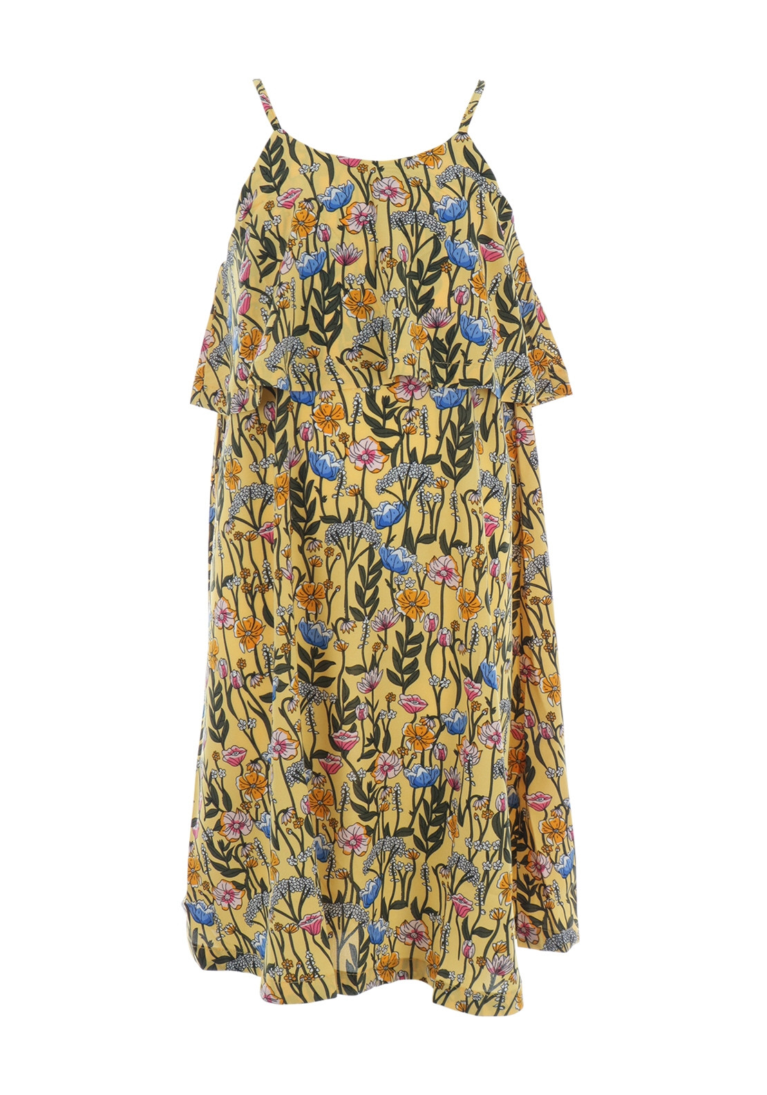 Maxi Baby Name Name It Girls Vina Floral Maxi Dress Yellow