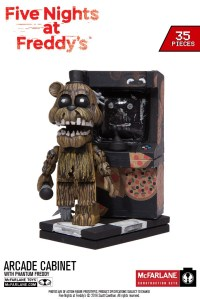 Five Nights at Freddys Fall 2016 Construction Sets In