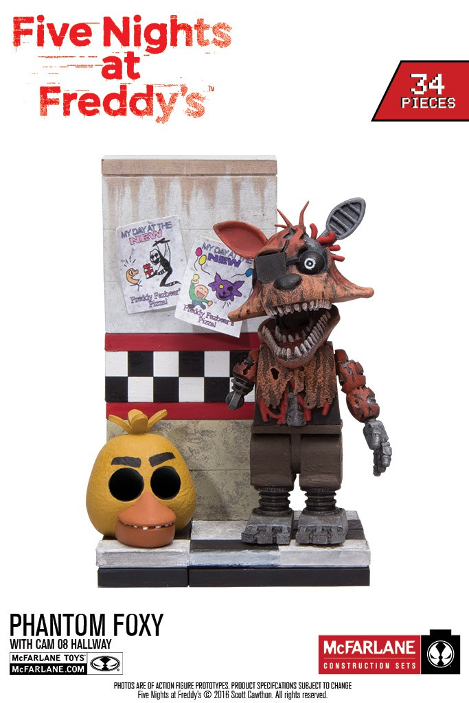 MORE Five Nights at Freddys Construction Sets Coming Soon!
