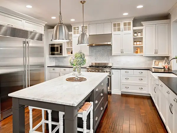 Modern Backsplash Tile Kitchen Countertops Atlanta - Granite Counters For