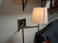 Wall Lamp with Adjustable Arm