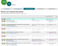 Screenshot of Review Documents step