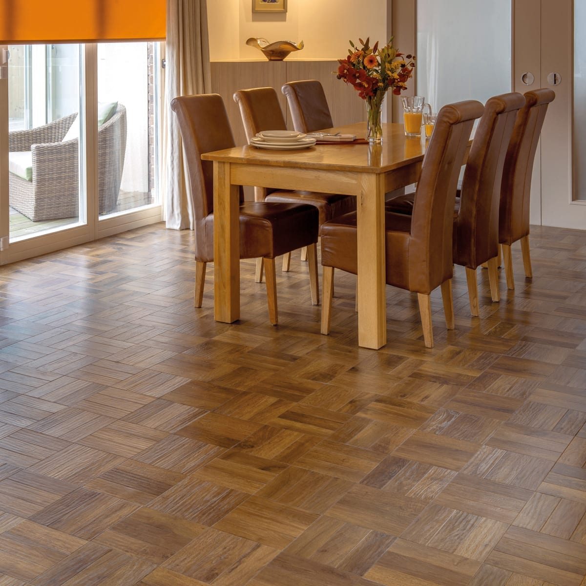 Dining Room Tile Ideas Karndean Art Select Parquet Mckenzie And Willis