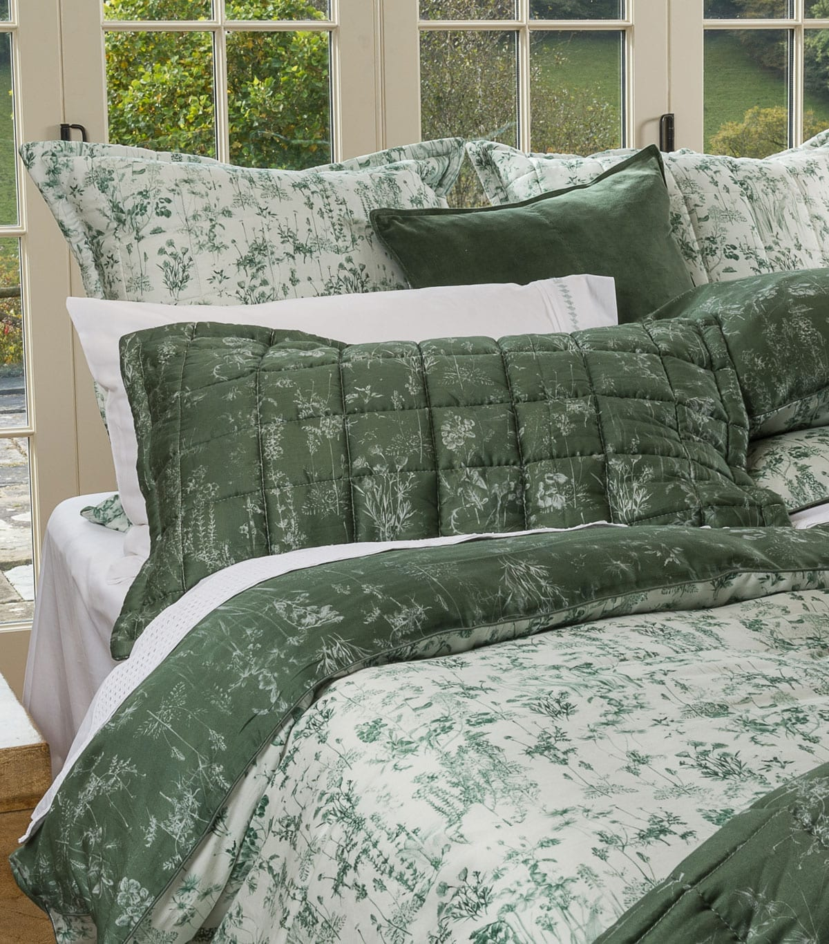 European Pillowcases Online Mm Linen Meadow Europe Pillowcase Set Mckenzie And Willis