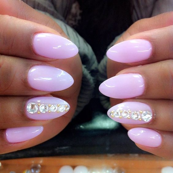 Lilac-dope-nails