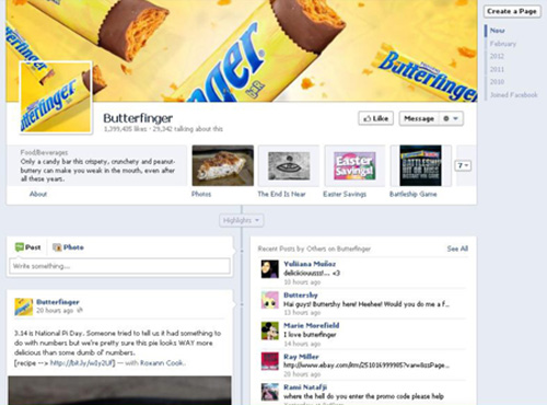 Facebook Timeline is coming to Fan Pages McKinley Marketing Partners - sample facebook timeline