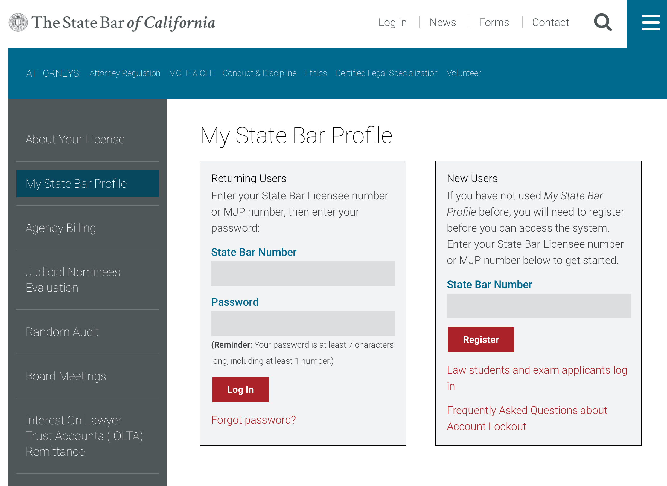 California State Bar Ca Cle Report Ca Mcle Compliance Via My State Bar Profile Mlce Blog