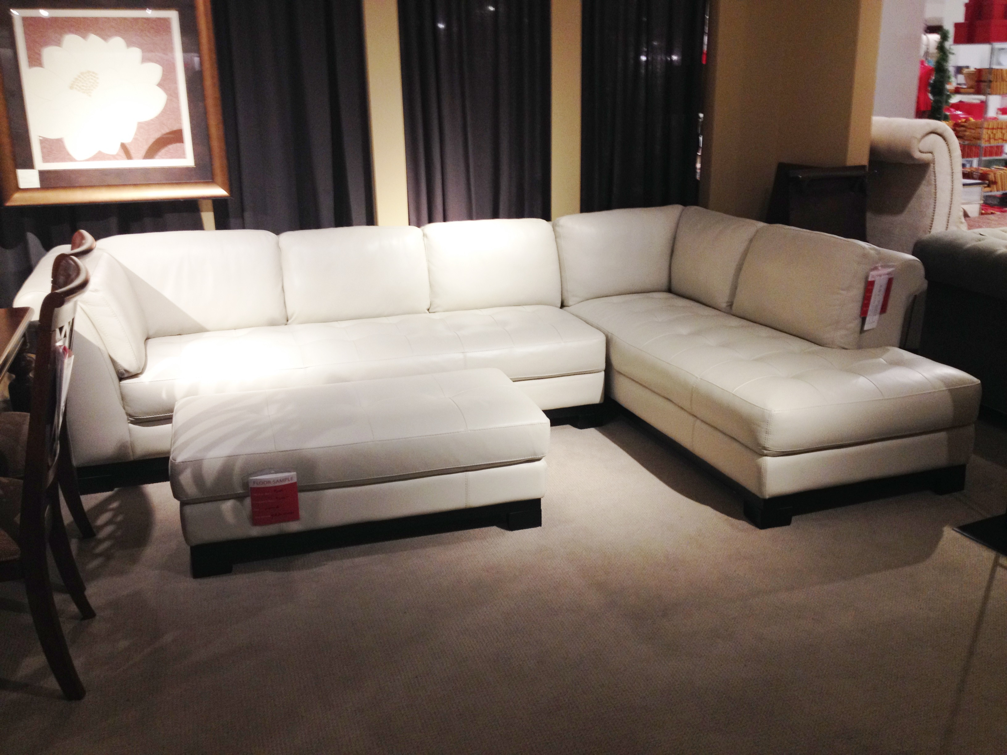 Value City Furniture Leather Sofa