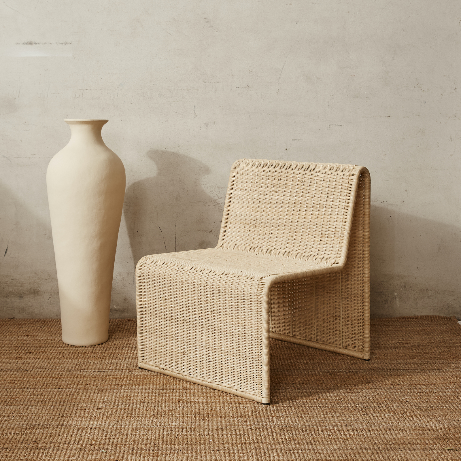 Modern Wicker Occassional Arm Chair Rattan Furniture Collection