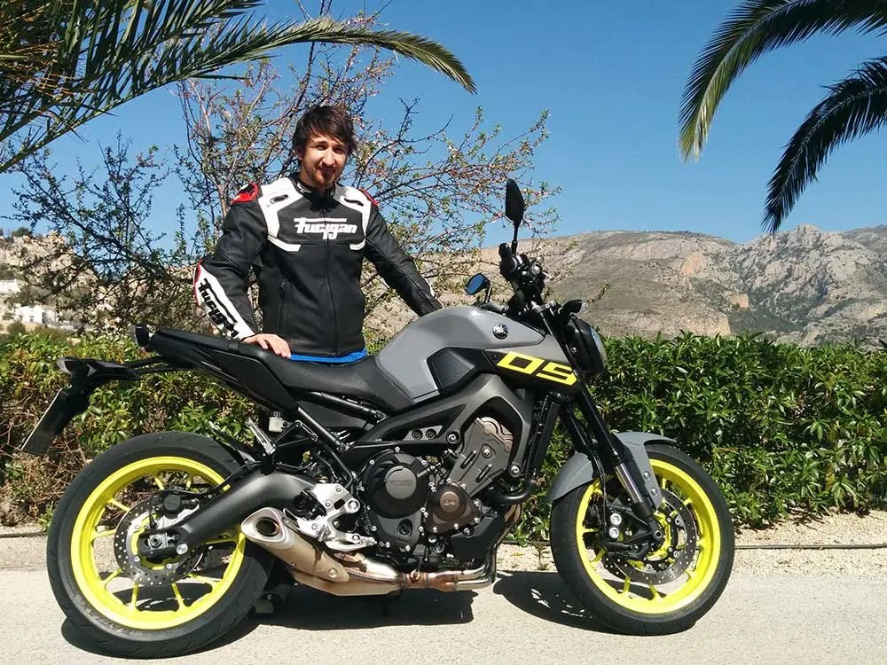 Yamaha MT-09 First Ride