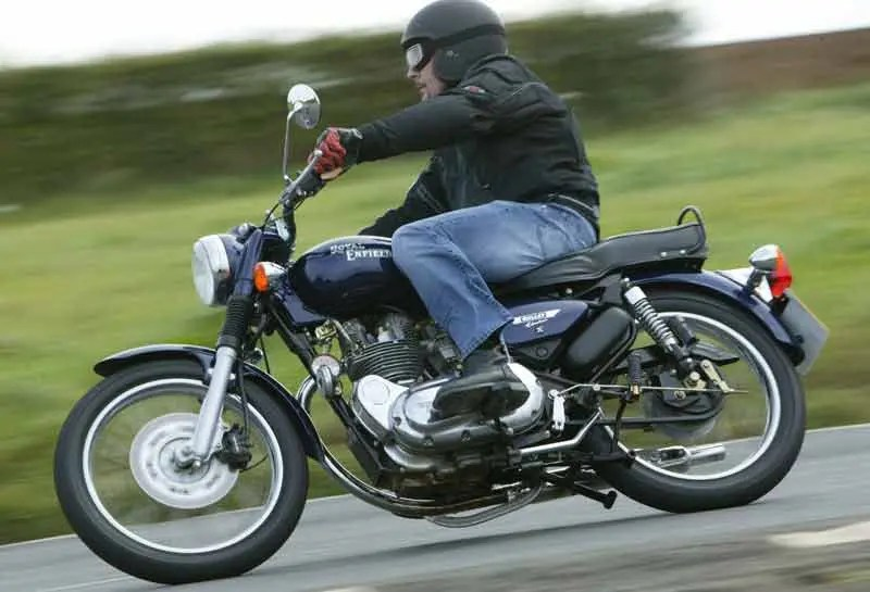 ENFIELD 500 BULLET ELECTRA (2004-on) Motorcycle Review MCN