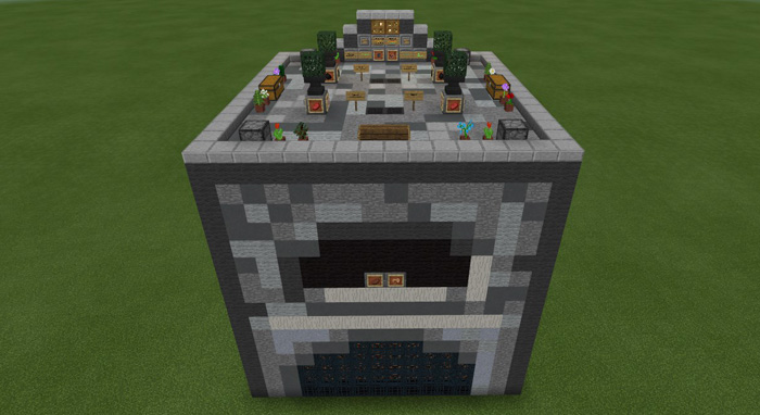 Working Huge Furnace Redstone Minecraft Pe Maps