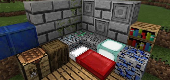 Starky\u0027s 3D Texture Pack 128×128 Minecraft PE Texture Packs