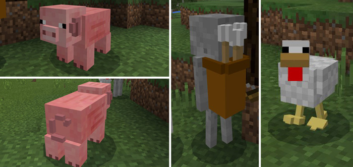 3D Mob Pack Minecraft PE Texture Packs