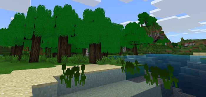 3D Vegetation Pack Minecraft PE Texture Packs