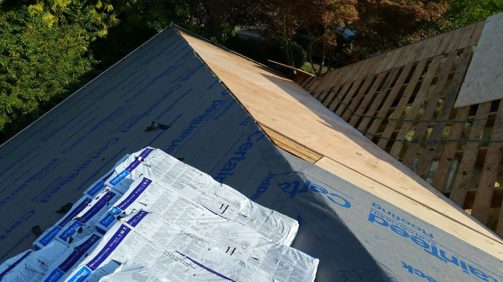 Half Inch Plywood Installing Synthetic Felt Over Half Inch Cdx Plywood Mcs Roofing