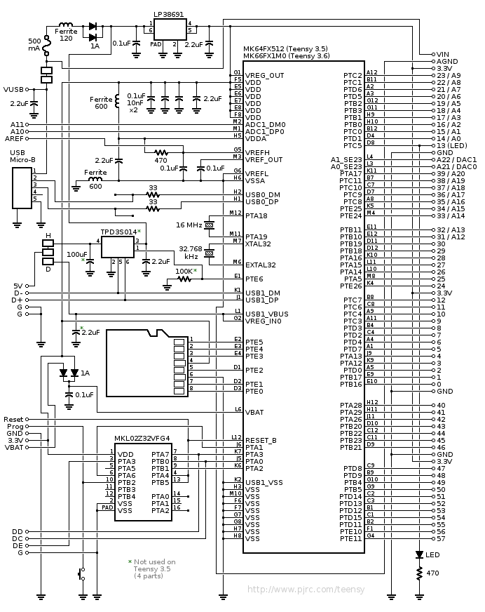 strand act 6 circuit diagram auto electrical wiring diagrammodifying the teensy 3 5 and 3 6 for arm swd debugging