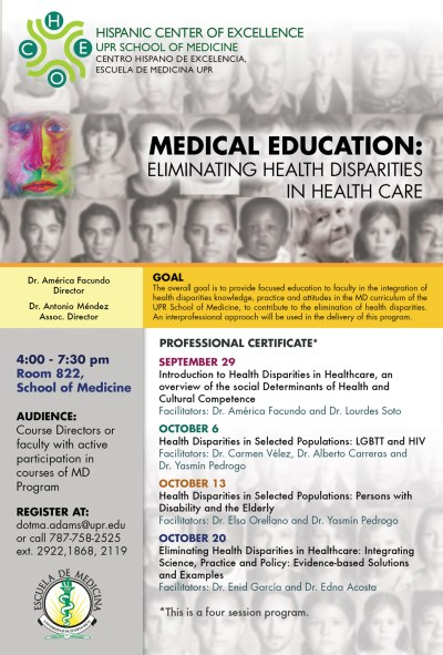 Medical Education Eliminating Health Disparities In Health Care