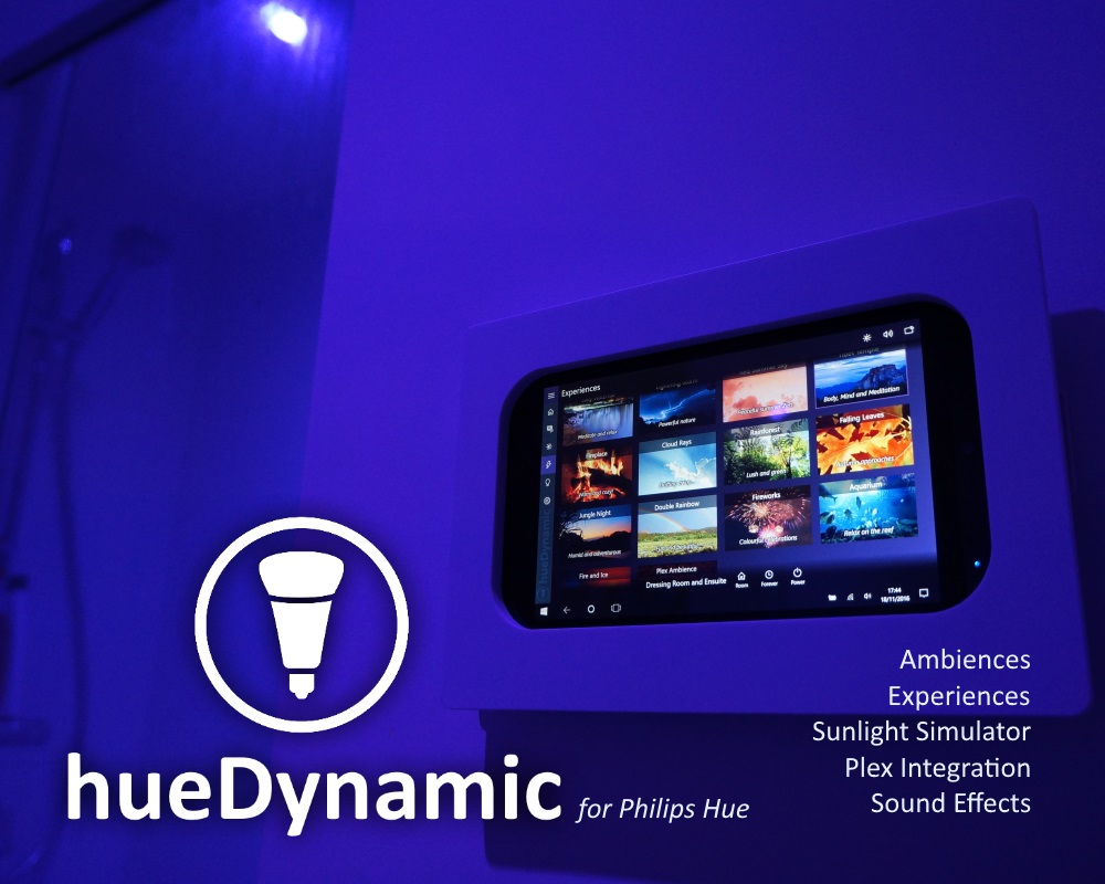 Hue Philips App New Hue Uwp App With Dynamic Scenes Stereo Sound And Plex