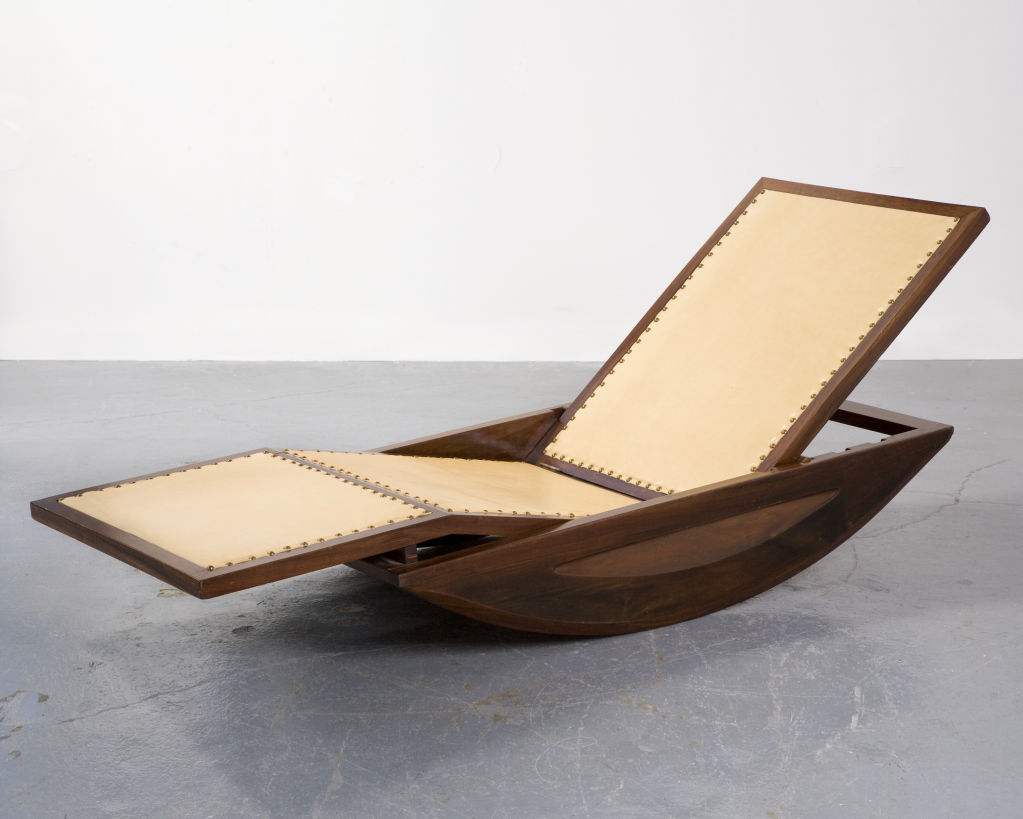 Chaise Rocking Chair 1947 Chaise Lounge Rocking Chair By Joaquim Tenreiro Brazil Mdba