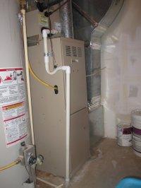 Water under furnace [pics inside]