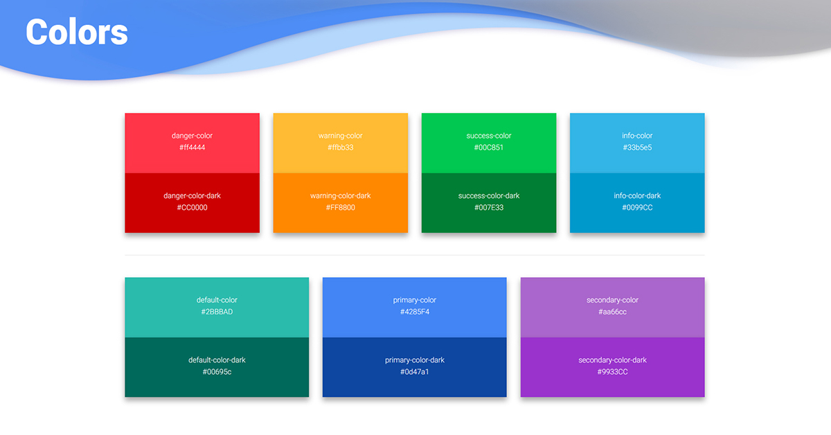 300 Bootstrap Colors - examples  tutorial Basic  advanced usage