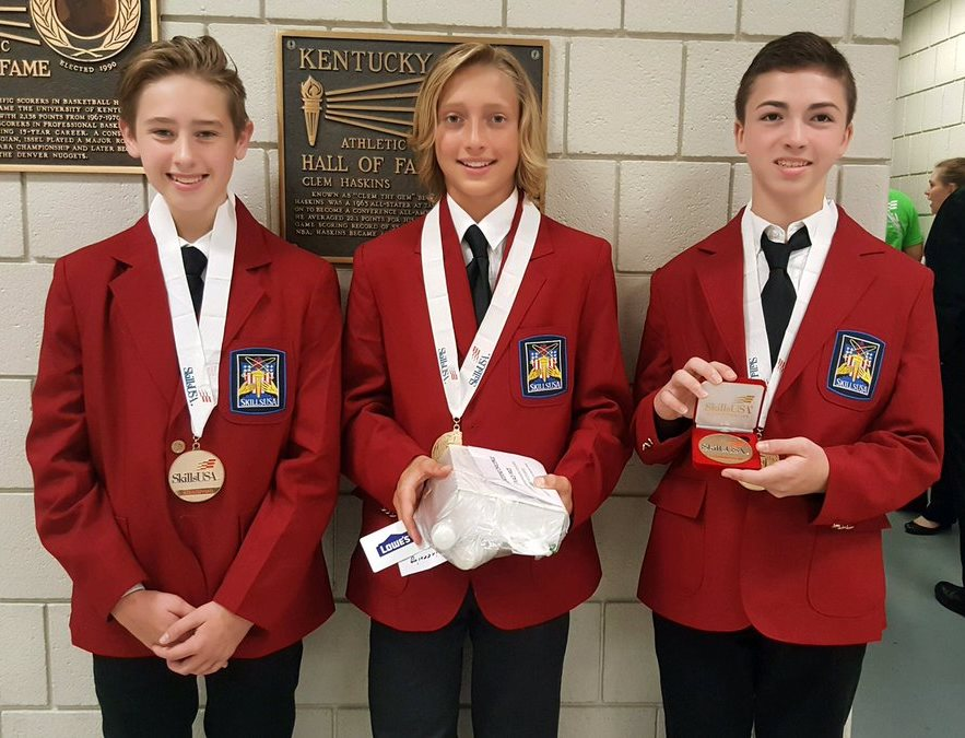 06/29/2017 Local Students Excel At National SkillsUSA Competition