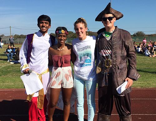 11/09/2017 SD High School Seniors Dress In Disney Themed Costumes - seniors high school