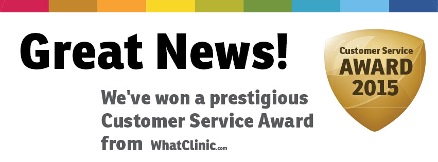 WhatClinic awarded MDental Clinic Hungary for Excellent Customer