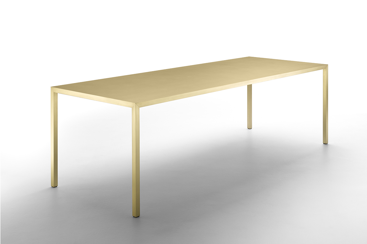 Esstisch Stone Tense Material A Long Rectangular Designer Table Made Of